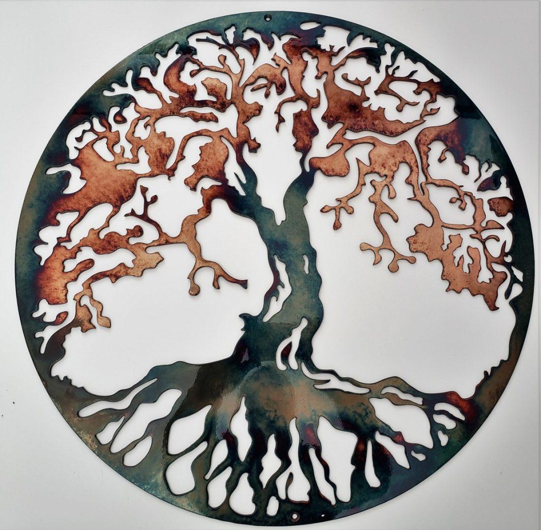 01 Tree of life Wall Art Metal Dècor Studios 1 300x259