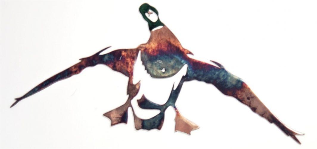 03 mallard set ducks Metal Wall Art Metal Dècor Studios