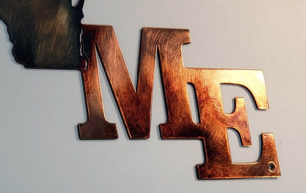 06 home is a state of mind Metal Wall Art Metal Dècor Studios Copy